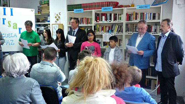 La Escuela de Paz celebra su tercer aniversario