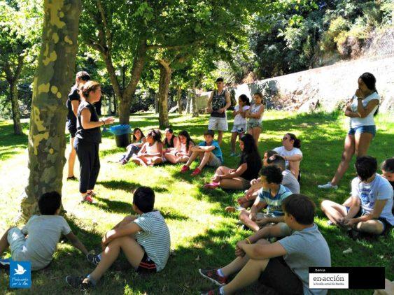 Campamento de verano escuela de paz mpdl